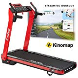 CARE FITNESS - Tapis de Course Motorisé CT- 960 - Tapis de Marche Inclinable - Vitesse Maximale 14 km/h - Tapis de Course Électrique Pliable - Inclinaison Motorisée- 8 Programmes