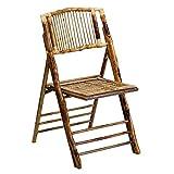 Flash Furniture 4 Pk. American Champion Bamboo Folding Chair,