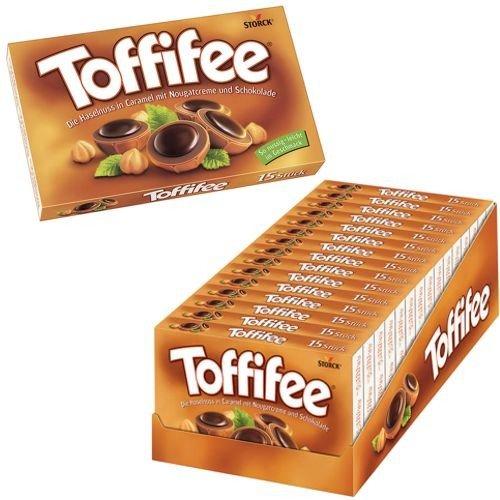 15 Packungen a 125g Toffifee Orginal Karamel und Schoko Nuss