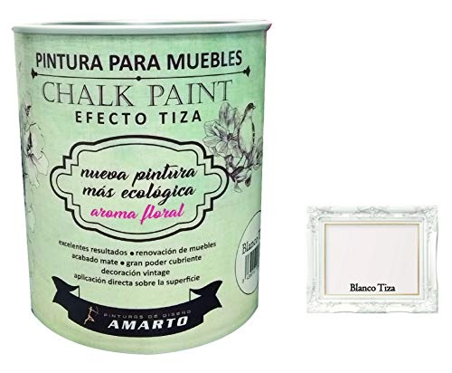CHALK PAINT PINTURA A LA TIZA. 750ml (BLANCO TIZA)