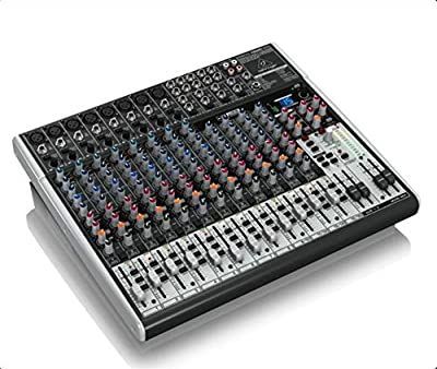 Behringer XENYX X2222USB 22-Channel Mixer with USB Audio Interface