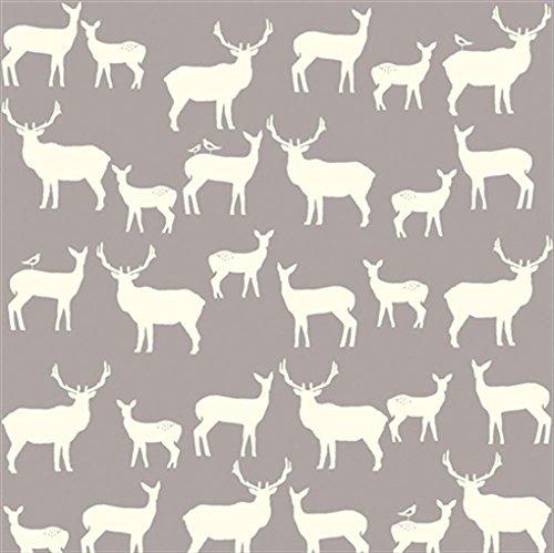 Organic Fitted Crib Sheet - Elk Family