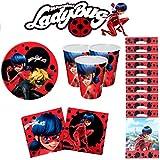 Ladybug Miraculous kit Anniversaire 10 Personnes