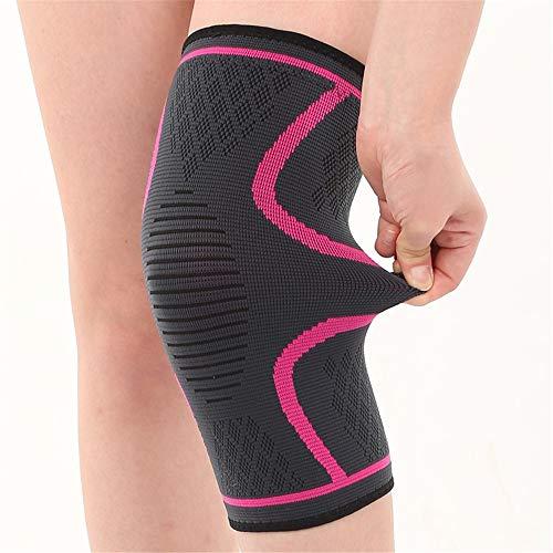 Yhjkvl Rodilleras de esponja gruesa para evitar colisiones, rodilleras, rodilleras para deportes al aire libre, escalada, equitación, rodilleras (color: beige, tamaño: XL)