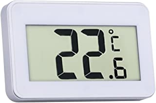 Fenteer Digital LCD Hygrometer Indoor Household Thermometer, Humidity Gauge, High Accurate Temperature Meter