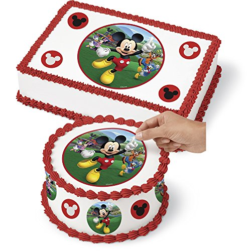 Wilton 710-7109 Mickey and The Roadster Racers Sugar Sheet Assorted