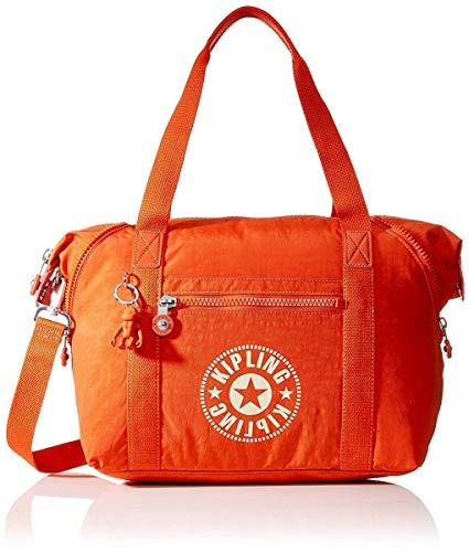 Kipling - Art Nc, Bolsos maletín Mujer, Naranja Funky