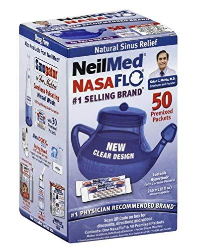 Neilmed Nasaflo Neti Pot Size 50ct