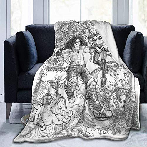 shenguang Kluge Worte Von Der offiziellen superweichen Mikrofleece-Decke, Die auf Dem Schlafsofa für Erwachsene verwendet Wird. Eltern und Kinder werfen Decken, Die für Alle Jahreszeiten gee