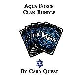 Cardfight!! Vanguard 200 Card Clan Bundle Lot [Aqua Force]