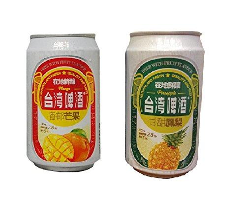 台湾マンゴービール&パインビール 24本×各1ケース