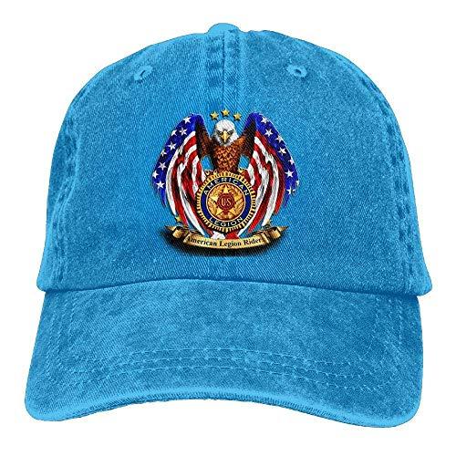ONGH American Legion Riders Chapter Gorras de béisbol Ajustables Sombreros de Mezclilla