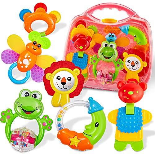 Maletín de juguetes para bebés de 6 meses