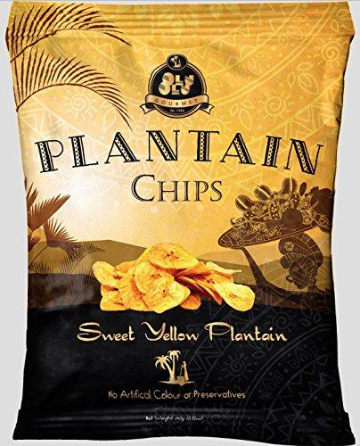 olu olu plantain chips 12x60g