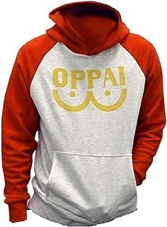 Cosplaybar Saitama Oppai Hoodie Sweatshirt Costume Hooded Jacket Outfit Coat
