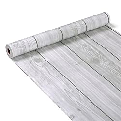 Decorative Wood Grain Contact Paper Self Adhesive Shelf Liner