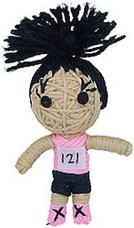 Kendra the Athlete String Doll Catnip Toy