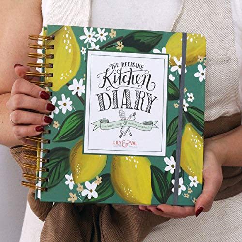 The Keepsake Kitchen Diary - Whimsical Lemons -Meals are...