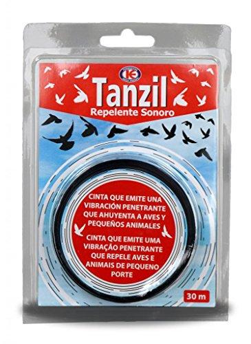 KOLLAND Tanzil - Cinta 30m Repelente sonoro ahuyentador de Aves y pequeños Animales