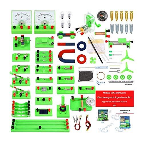 Laboratorio Electricidad De Fisica Circuito Electrico Kit Electrico Escolar Circuito Electricos con...