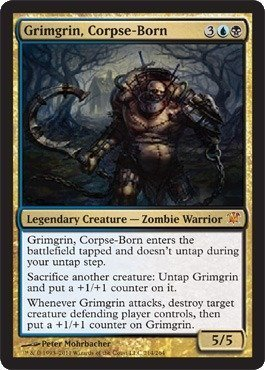 Magic: the Gathering - Grimgrin, Corpse-Born - Innistrad - Foil