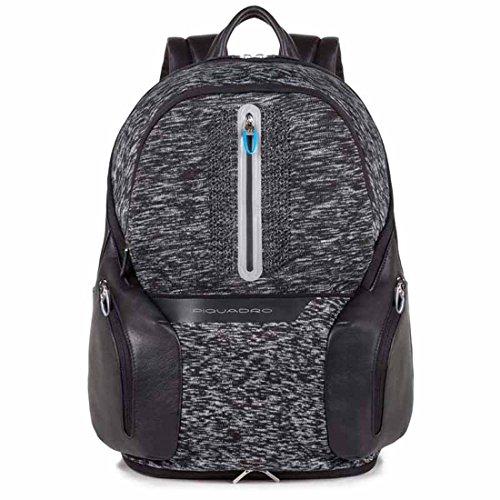 Piquadro BagMotic Mochila Porta Ordenador con Porta iPad®, Negro - CA2943OS38BM/N
