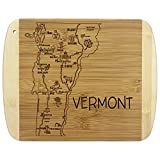 Totally Bamboo A Slice of Life Vermont Bamboo Serving and Cutting Board