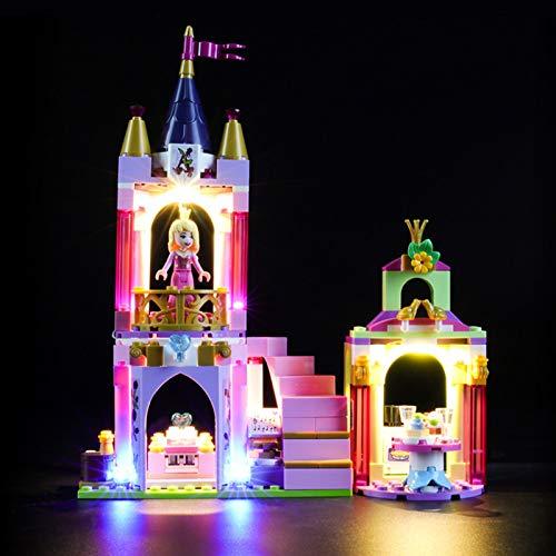 iCUANUTY Kit de Iluminación LED para Lego 41162, Kit de Luces Compatible con Lego Disney Princess - Celebración Real de Ariel, Aurora y Tiana (No Incluye Modelo Lego)