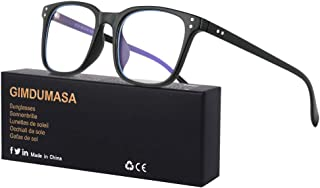 comprar comparacion Gimdumasa gafas ordenador gaming pc uv luz filtro proteccion azul mujer hombre para antifatiga GI799 (Negro)