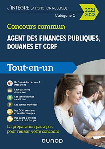 Concours commun Agent des finances publiques, douanes et CCRF - 2021-2022 - Catégorie C -Tout-en-un-: Catégorie C - Tout-en-un (2021-2022)