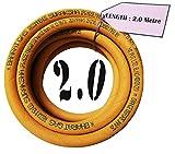 US24 Genuine Suraksha LPG Hose Pipe 2m long ISI Marked Steel wire...