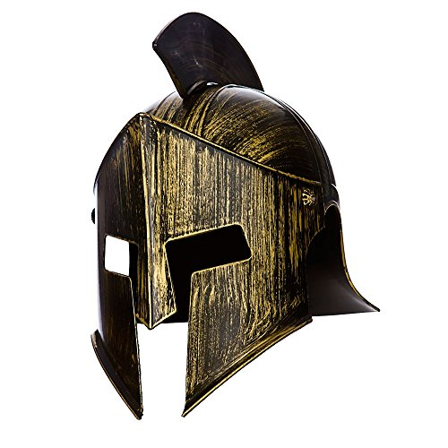 Gladiator / Spartan Helmet ancient warrior costume Accessory