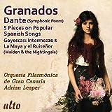 Granados : Dante - Cantos populares - Goyescas. Lucey, Herrera, Leaper.