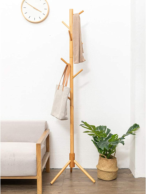 Free Standing Coat Rack, Modern Creative Clothes Has Storage Rack for Living Room Bedroom Corridor Entrance-B