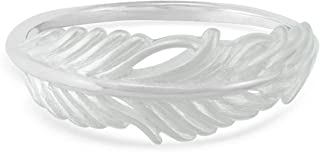 Jewelry Sterling Silver Feather Ring