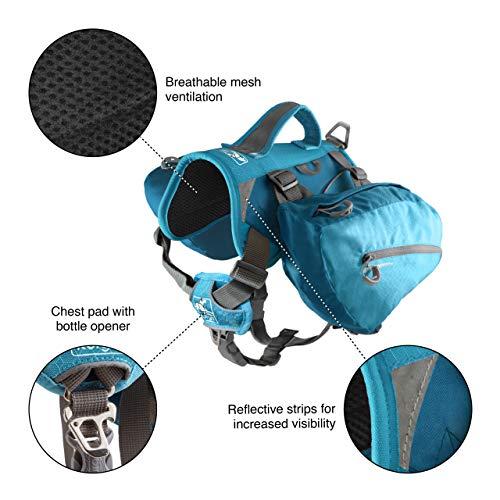 Kurgo Dog Saddlebag Backpack