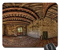 25X30cm Mouse Pad Mouse Mat Attic Loft Panorama Empty Room Old House Abandoned