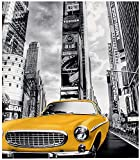 New York City Yellow Taxi Puzzle 1000 Piezas Km3Iz(38 * 26cm)