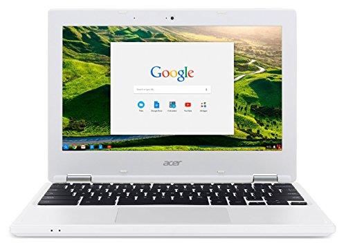 Acer Chromebook CB3-131-C3SZ クロームブック/ 11.6inch HD (1366x768) / Intel Celeron N2840 (Dual-Core Processor) / 2GB RAM (DDR3L) / 16GB Solid State Drive (eMMC) / Chrome OS/ White 並行輸入品