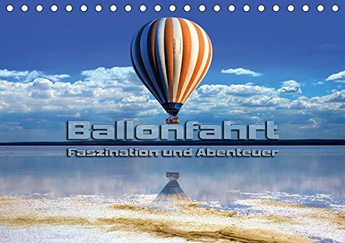 Ballonfahrt - Faszination und Abenteuer (Tischkalender 2020 DIN A5 quer): Atemberaubende Bilder vom Fahren mit dem Heißluftballon (Monatskalender, 14 Seiten ) (CALVENDO Sport)