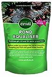 Envii Pond Equaliser - Protège Instantanément et Stabilise Des Niveaux de pH, KH et GH Sains Pour Créer un Environnement Parfait Pour le Bassin (250g)