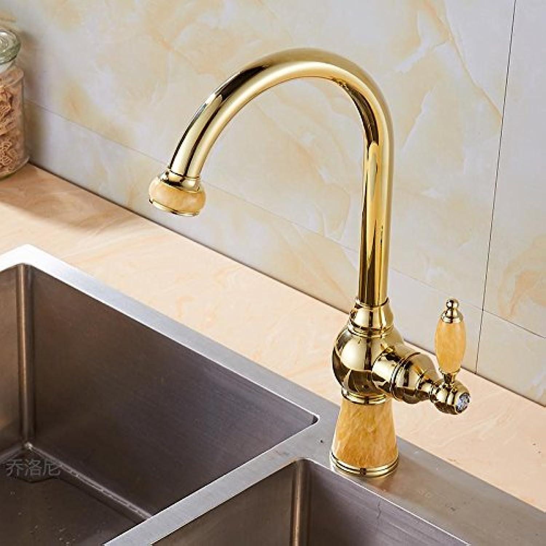 Küche Waschbecken dehnbar Bad Messing Waschbecken Wasserhahn Hebel Quadrat heien und kalten Wasserhahn