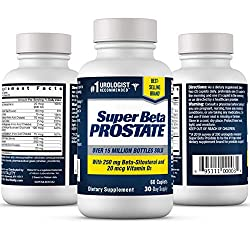 Super Beta Prostate. 60 capsules. 1 month supply