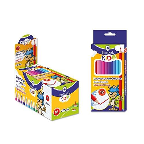 Librería LAPICEROS 12 Colores BISMARK Kids
