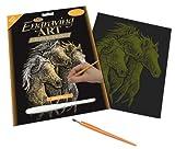 Royal & Langnickel oro incisione arte A4Dimensioni Cavalli per pittura Set