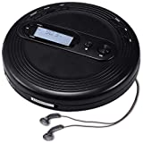Deluxe Products CD Player Portable with FM Radio, Micro USB Port, Stereo Earbuds, 60 Second Anti Skip, for use at Home or in Car