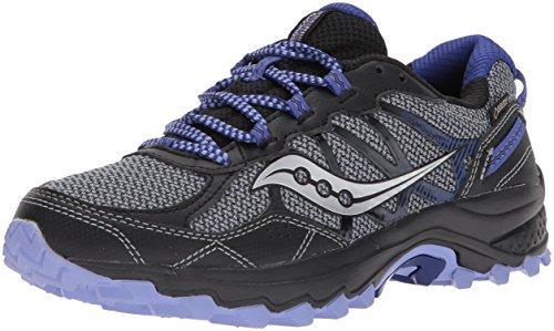 Saucony Women's Excursion TR11 GTX Running Shoe, Grey Purple, 9 Medium US