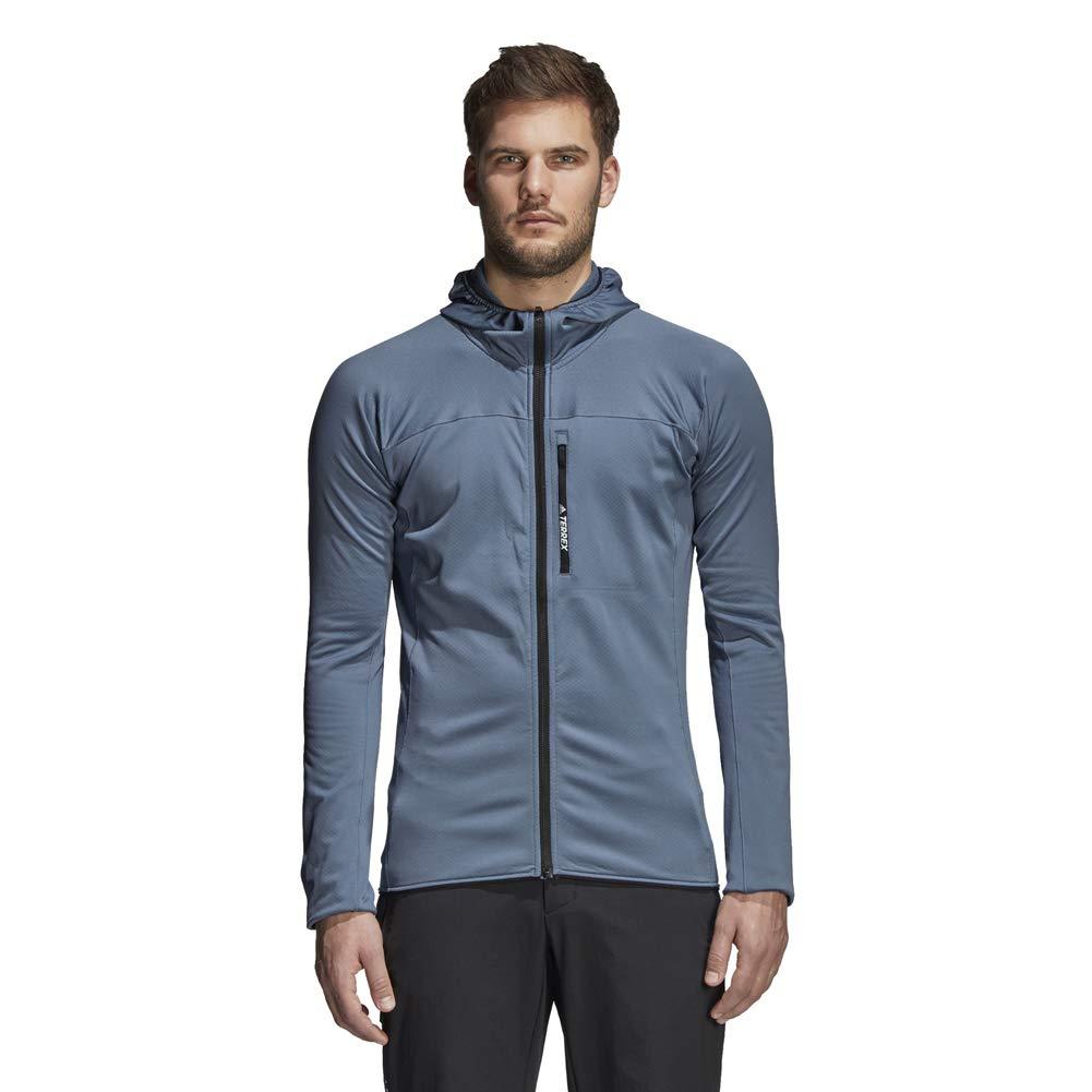 triple Reproducir Partina City  Amazon.com: adidas Outdoor Men's Tracerocker Hooded Fleece, ACTIVE GREEN,  L: Clothing