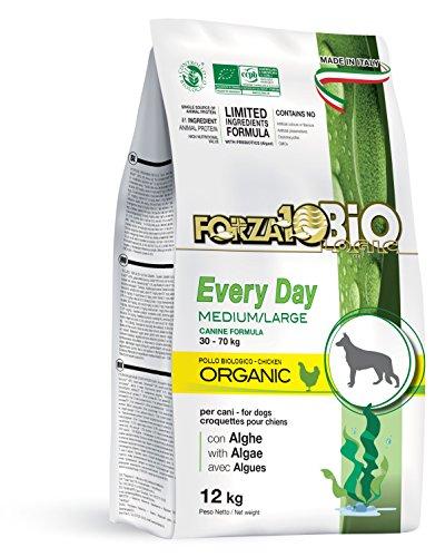 Forza10 Bio - Croquettes Pour Chien Poulet/Algues - Forza10 - Naturelles & Bio - Chien Adulte 12Kg