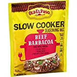 Old El Paso Slow Cooker Seasoning Mix Beef Barbacoa, 0.85 oz